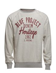 Blue project sweat - GREY MEL