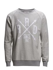 Rad since 62 sweat - GREY MEL