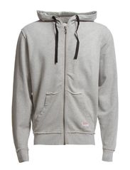 Originals zip hood sweat - GREY MEL