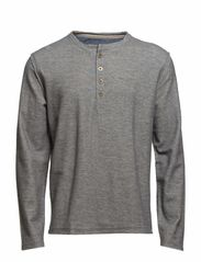 Raw granddad sweat - GREY MEL