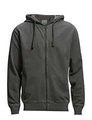 Dirtyhoodsweatcardigan - DARK GREY