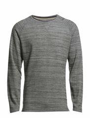 Raw boatneck knit - GREY