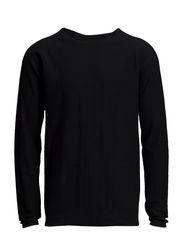 Raglan knit - BLACK