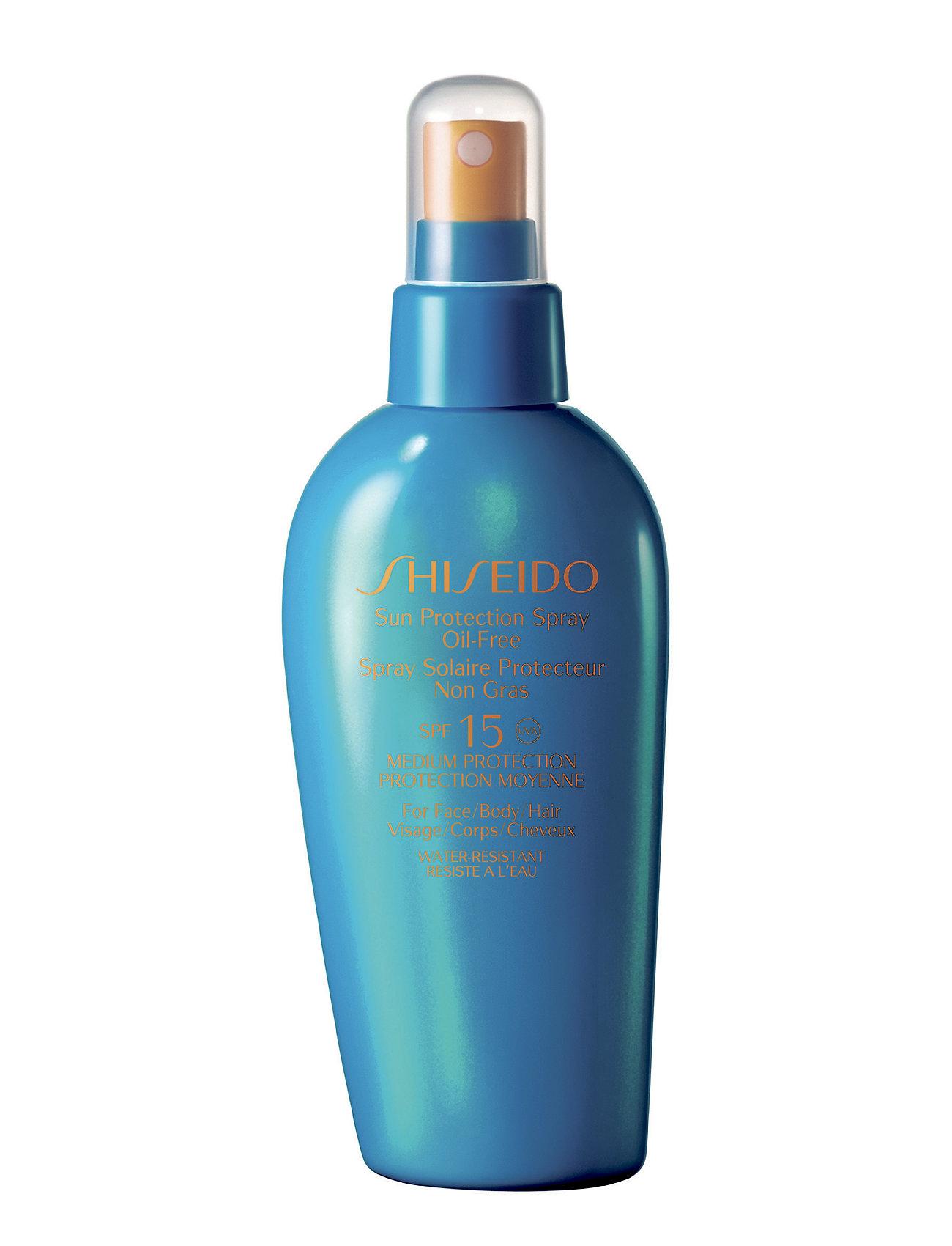 Sun Spray Oil-Free Spf15 Shiseido  til Herrer i