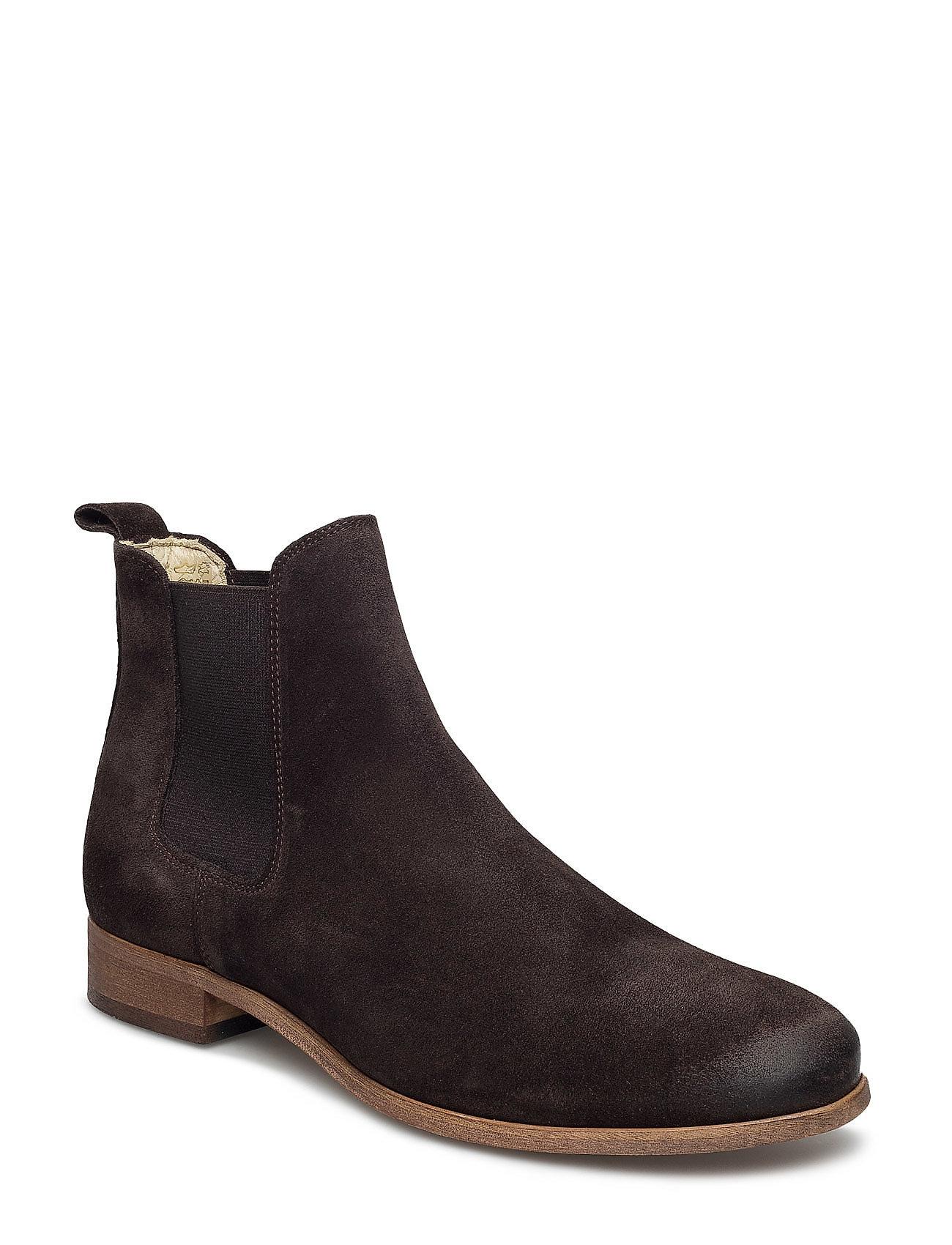 Stb1055 Shoe The Bear Støvler til Mænd i Sort