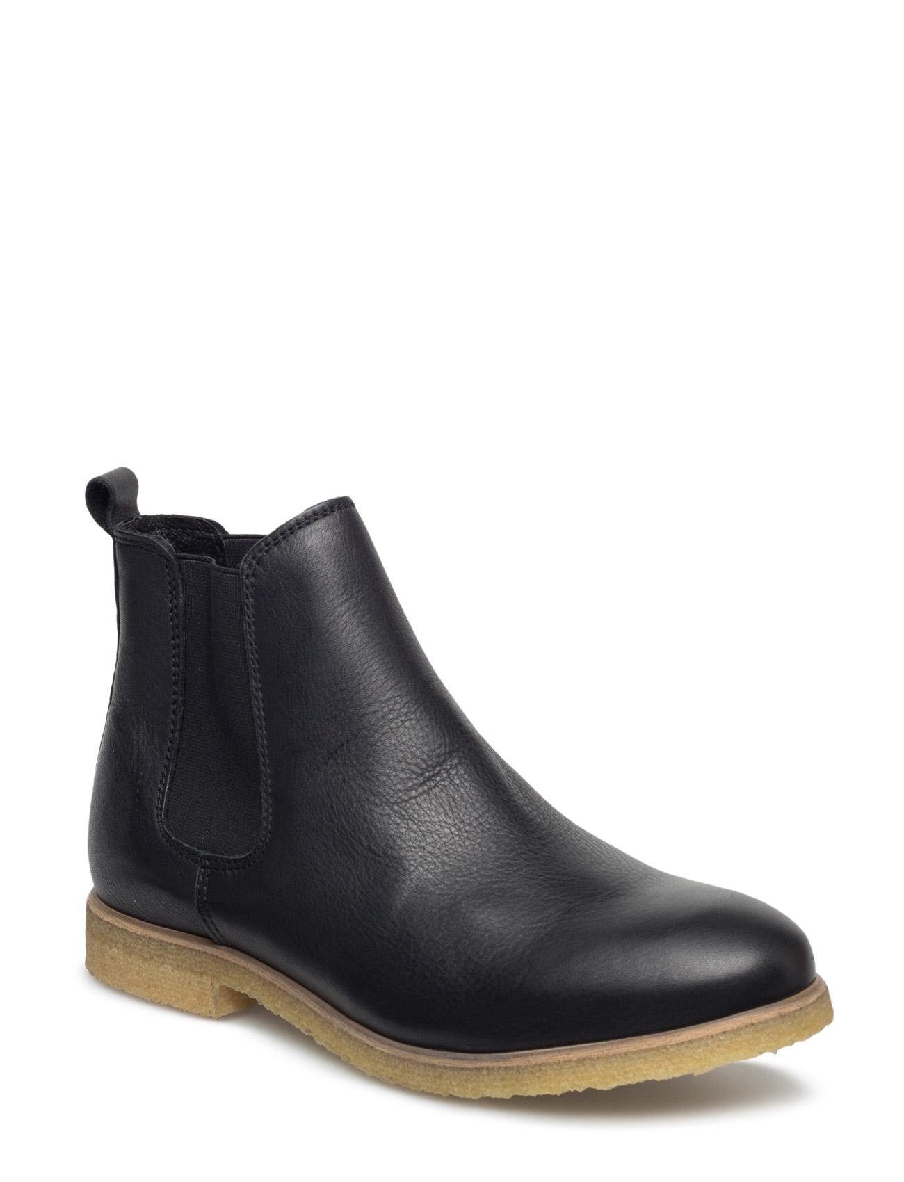 Friday L Shoe The Bear Støvler til Kvinder i Sort