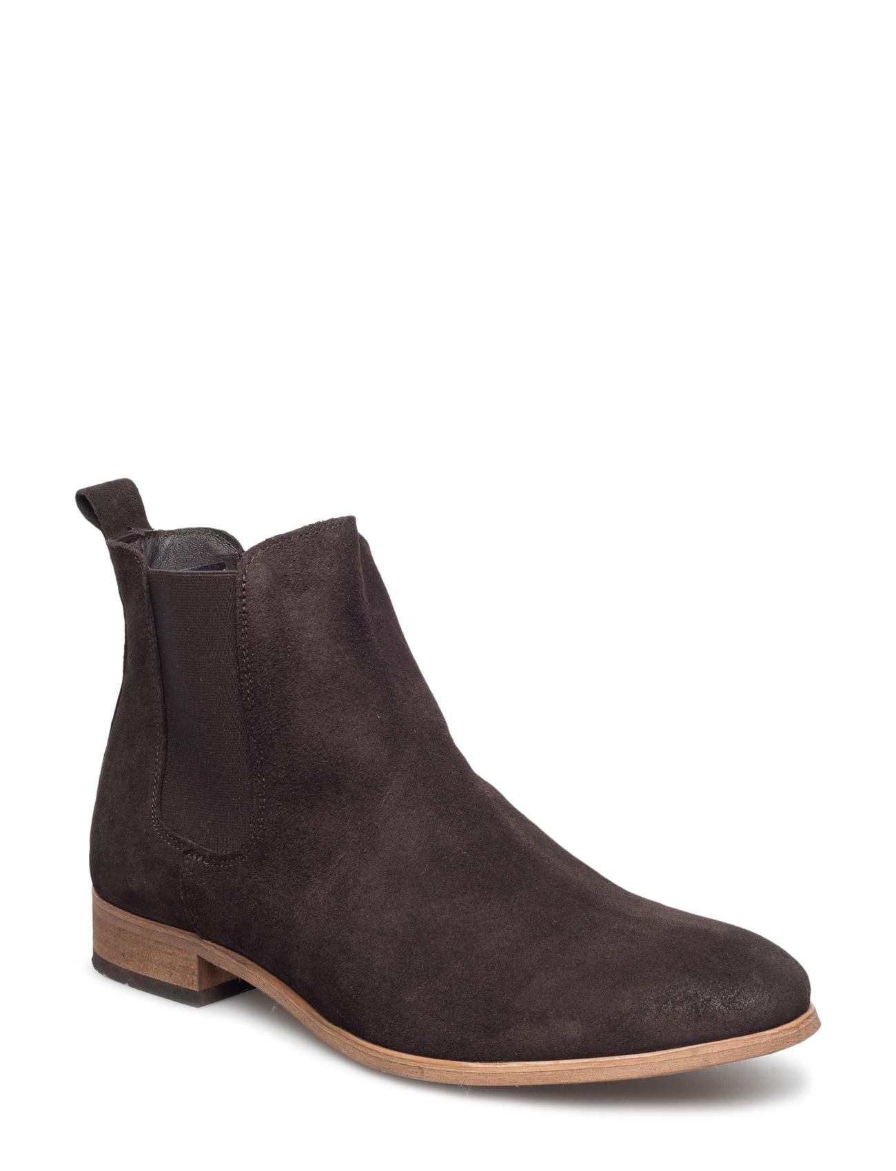 Chelsea S Brown Shoe The Bear Støvler til Mænd i Brun