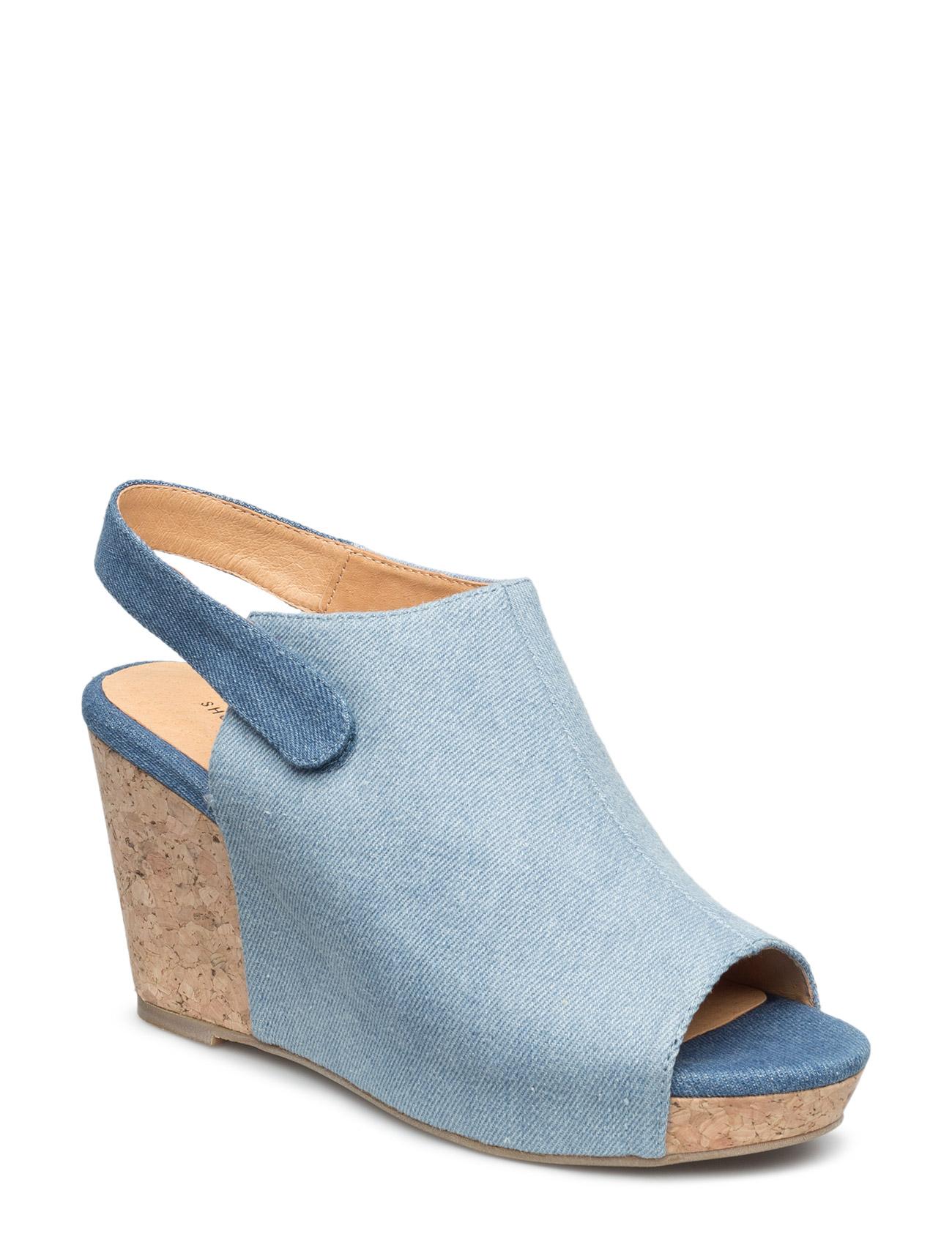 Cindy Denim Shoe The Bear Sandaler til Damer i Denim