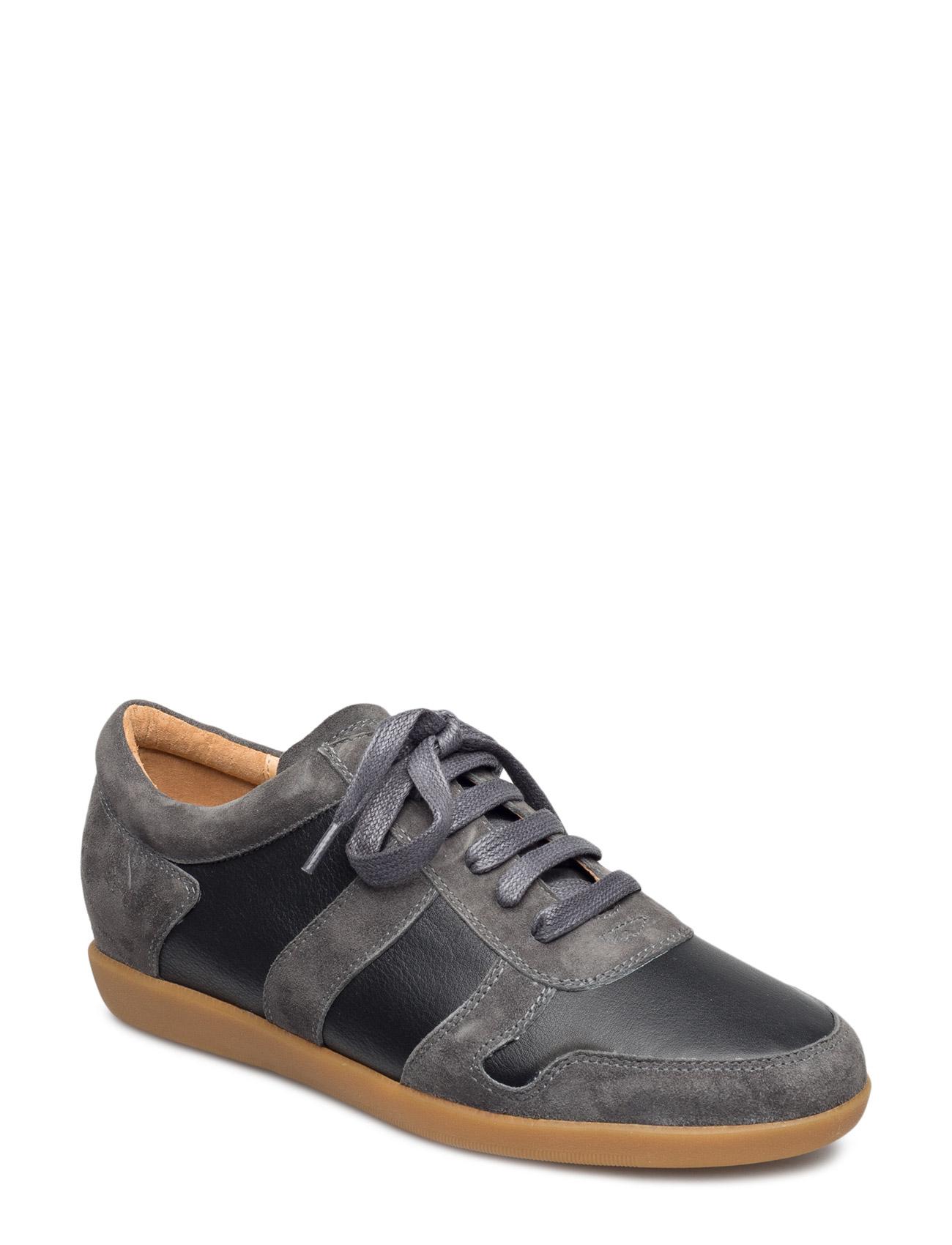 Charlie Black Shoe The Bear Sneakers til Kvinder i Sort
