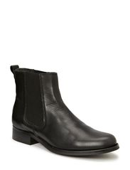 Short Boot with elastic - Velvet Black