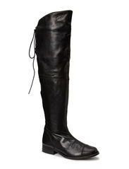 Long Boot Overknee - Velvet black