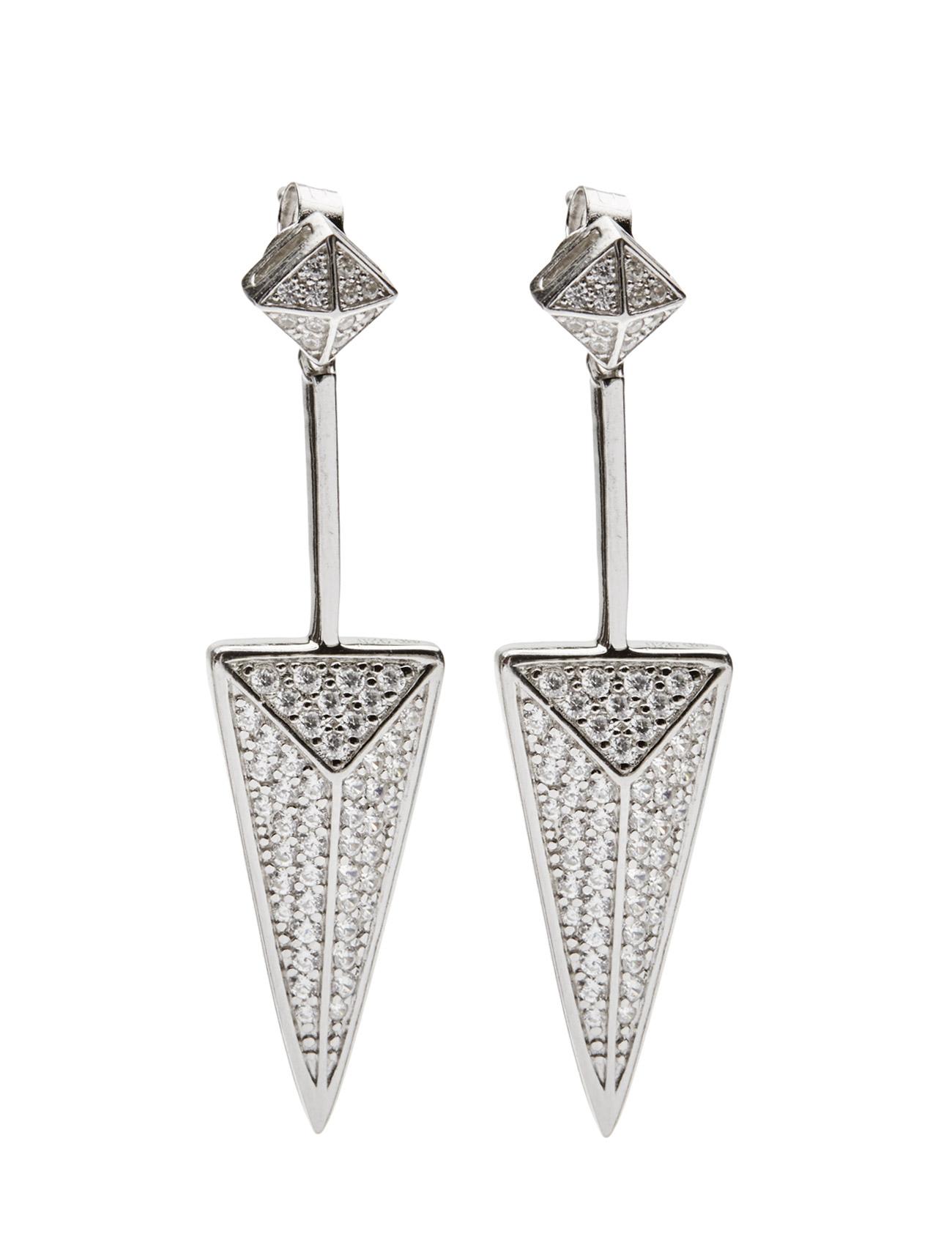 Pecetto Grande Earrings Sif Jakobs Jewellery Smykker til Damer i Sølv