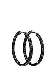 BOVALINO EARRINGS - BLACK