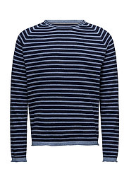 Dirck Stripe - DUKE BLUE