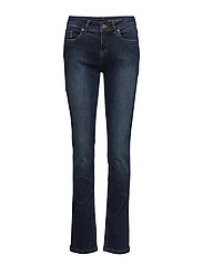 Milan-Regular-Straight - DARK BLUE DENIM