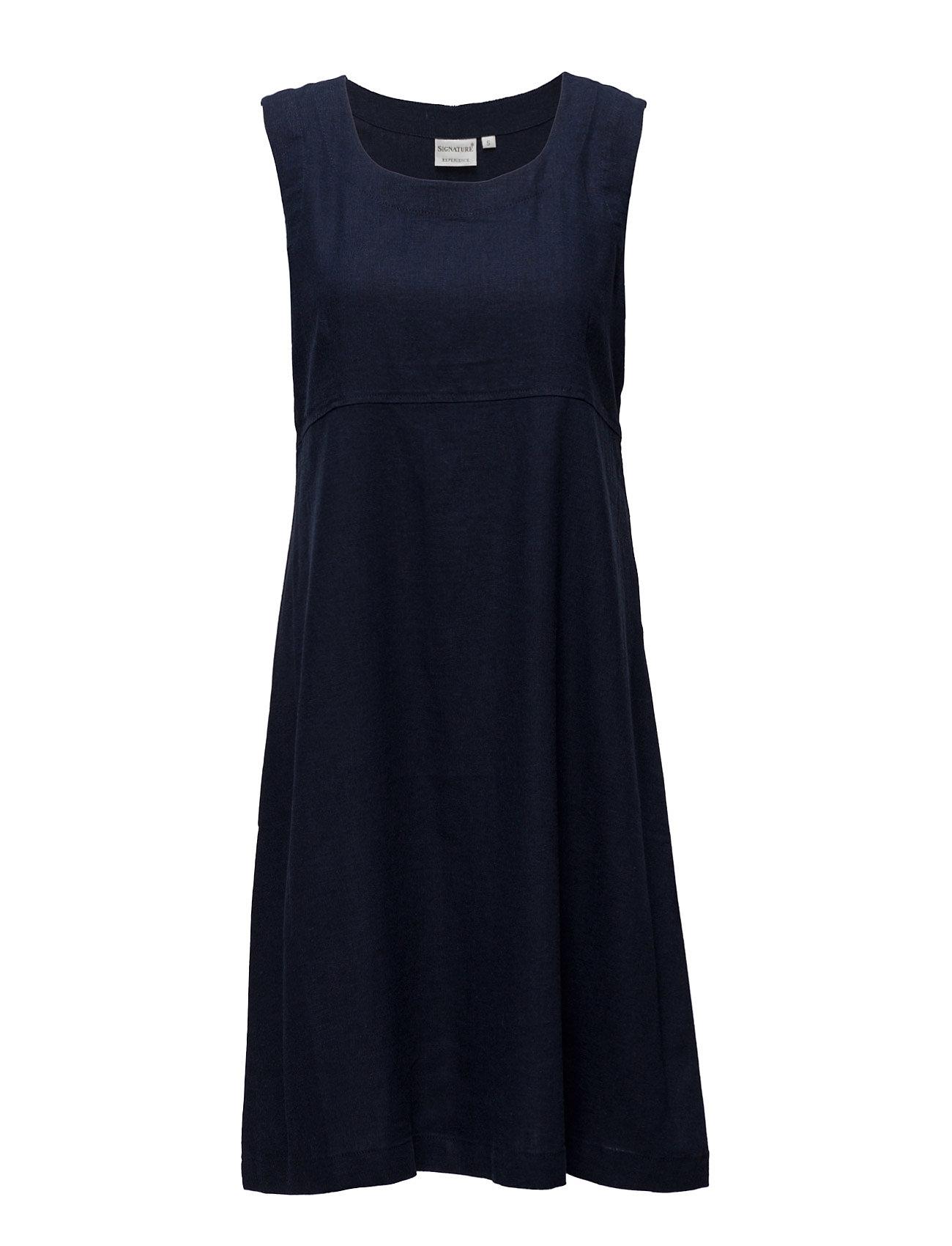 Casual Dress Signature Kjoler til Kvinder i Navy blå
