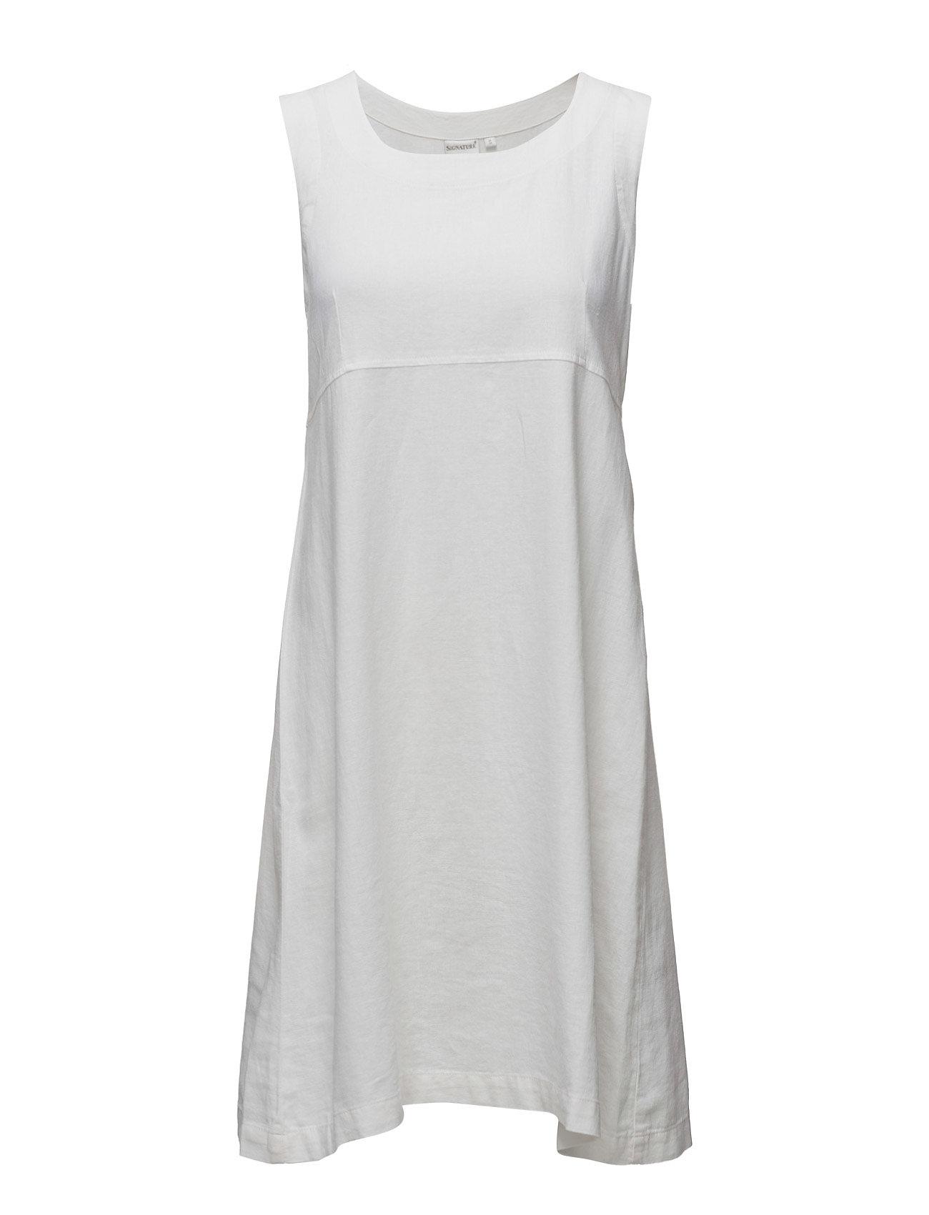 Casual Dress Signature Knælange & mellemlange til Damer i hvid