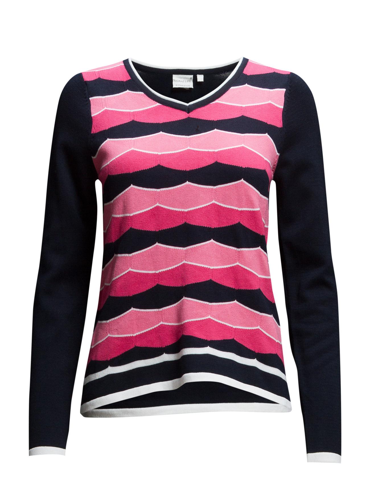 Pullover Signature Sweatshirts til Kvinder i Koral