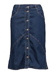 Casual skirt - DARK BLUE DENIM