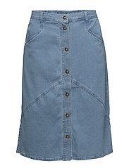 Casual skirt - LIGHT BLUE DENIM