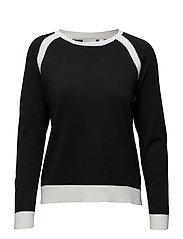 Pullover-knit Summer - BLACK