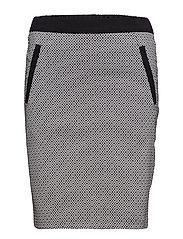 Casual skirt - BLACK
