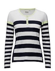 Pullover-knit Summer - PEAR