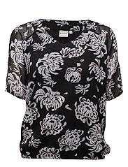 Shirt l/s Woven - BLACK
