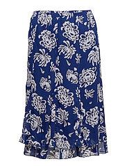 Skirt-light woven - DEEP BLUE