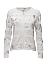 Cardigan-knit Summer - WHITE