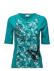 T-shirt s/s - SEA GREEN