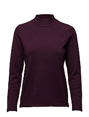 Pullover-knit Heavy - WINE