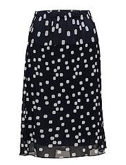 Skirt-light woven - MARINE