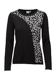 Pullover-knit Heavy - LT. GREY MELANGE