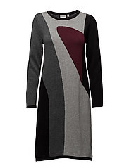Dress-knitted - BORDEAUX