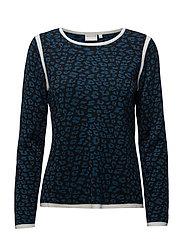 Pullover-knit Heavy - DARK PETROL