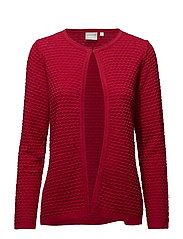 Cardigan-knit Heavy - SCARLET