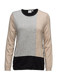 Pullover-knit Heavy - BEIGE