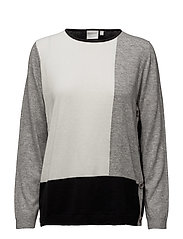 Pullover-knit Heavy - BLACK
