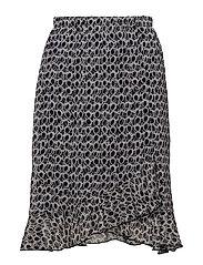 Skirt-light woven - NAVY