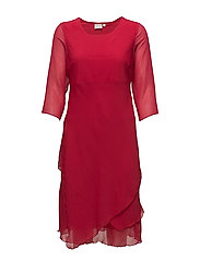 Dress-light woven - SCARLET