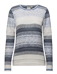 Pullover-knit Light - LAKE BLUE