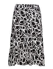 Skirt-jersey - BLACK