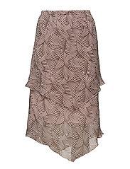 Skirt-light woven - LIGHT ROSE