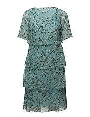 Dress-light woven - LIGHT AQUA