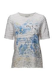 T-shirt s/s - LAKE BLUE