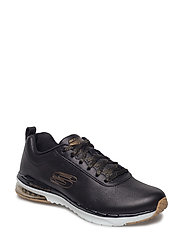 Womens Skech-Air Infinity - Ozones - BKGD BLACK GOLD