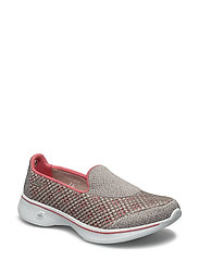Womens Go Walk 4 - Kindle - TAUPE CORAL