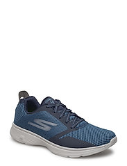 Mens GO Walk 4 - NVGY NAVY GREY
