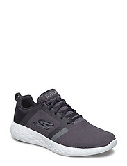 Mens GO Run 600 - BKW BLACK WHITE